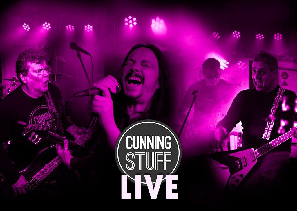 Cunning Stuf Rockband - Live